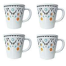 image of Olpro Whitbourne Melamine Mugs x 4
