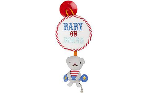image of Vintage Circus Monty the Mouse Baby On Board Sign