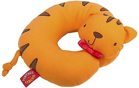 image of Vintage Circus Rory the Tiger Neck Cushion
