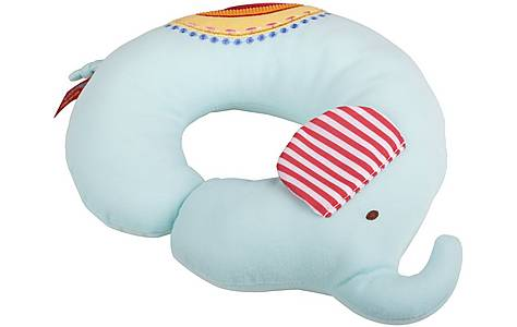 image of Vintage Circus Barnaby the Elephant Neck Cushion
