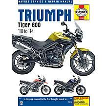 image of The Haynes Triumph Tiger 800 (2010-2014) Manual