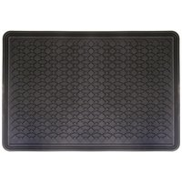 Halfords Single Rubber Car Mat - Large