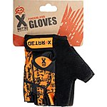 image of X Rated Kids Fingerless BMX Gloves