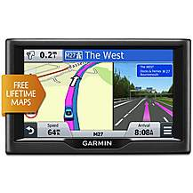 "image of Garmin nuvi 57LM 5"" Sat Nav with UK & Ireland Lifetime Map"