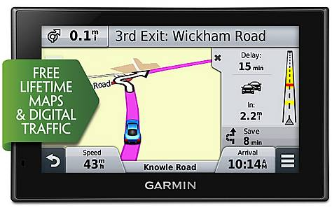 """image of Garmin nuvi 2529LMT-D 5"""" Sat Nav with UK & Ireland Lifetime Maps and Traffic"""