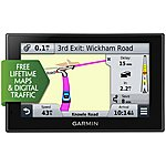 "image of Garmin nuvi 2529LMT-D 5"" Sat Nav with UK and Ireland Lifetime Maps and Traffic 2016"