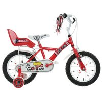 Apollo PomPom Kids Bike - 14""