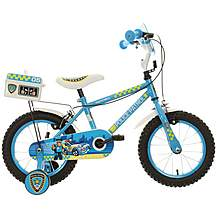 image of Apollo Police Patrol Kids Bike - 14""