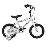 image of Indi Adapt Kids Bike with Stickers - 12""