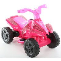 Roadsterz 6V Electric Ride On Quad - Pink