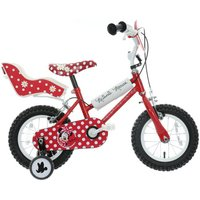 Disney Minnie Mouse Kids Bike - 12""