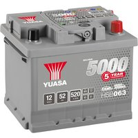 Yuasa 12V Silver Car Battery HSB063 - 5 Yr Guarantee