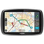 image of TomTom GO 6100 Sat Nav with MyDrive and Lifetime Traffic and Lifetime World Maps