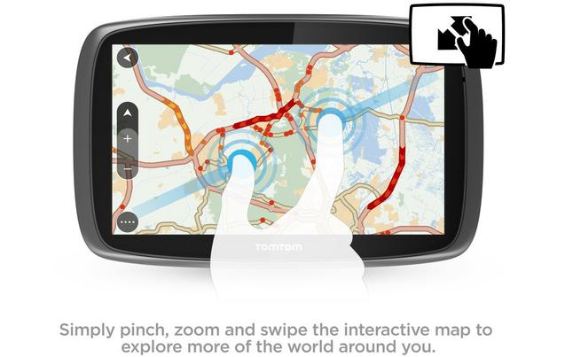 Tomtom go 610 sat nav with mydrive tomtom go 610 sat nav with mydrive and lifetime traffic and lifetime world maps gumiabroncs Choice Image
