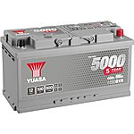 image of Yuasa 12V Silver Car Battery HSB019 - 5 Yr Guarantee