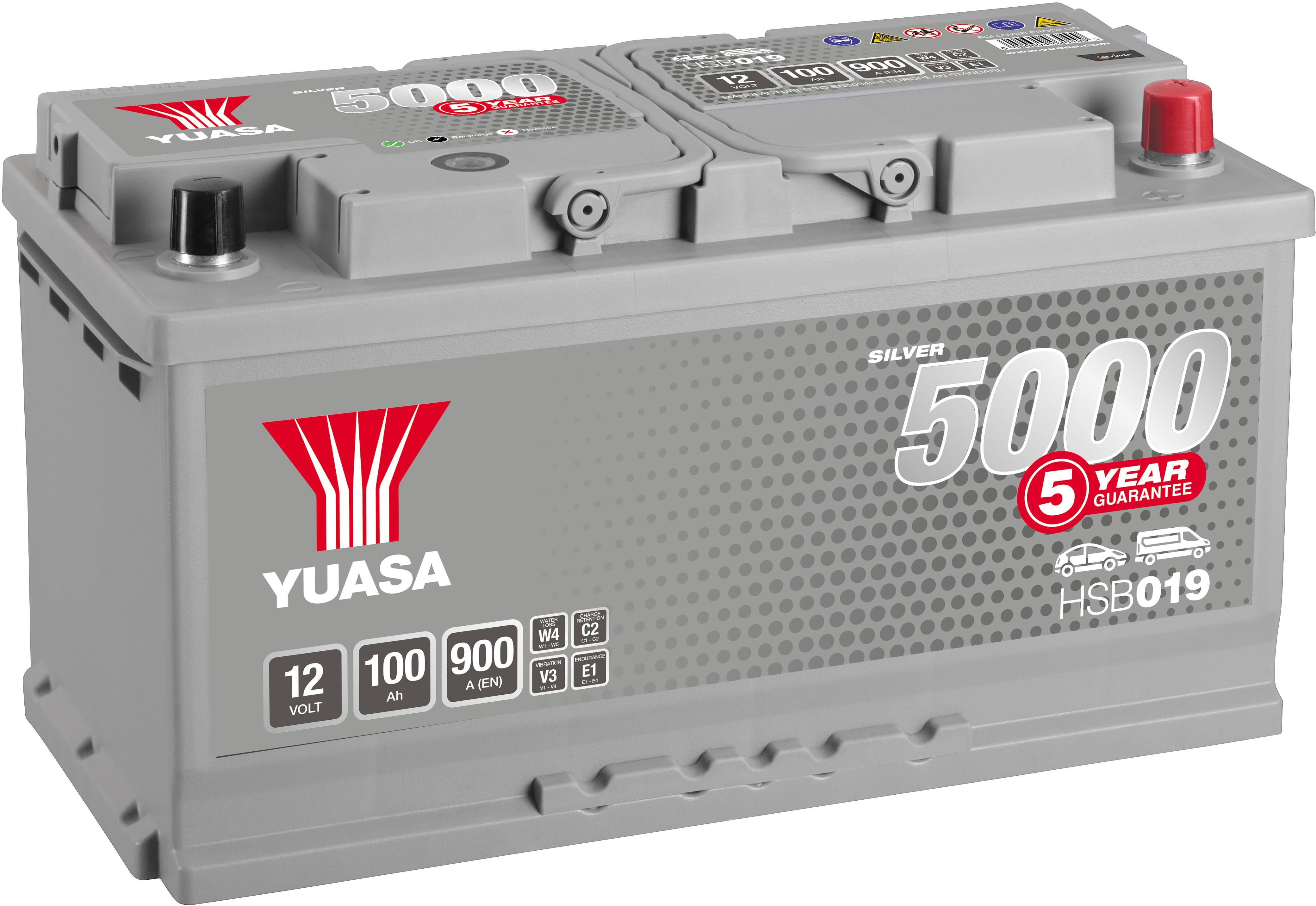 068 Titanium Car Van Battery 12V 550A