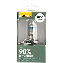 image of Halfords (HBU9006EB) HB4 Extreme Brilliance Car Bulb