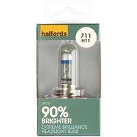 Halfords (HBU711EB) H11 Extreme Brilliance Car Bulb