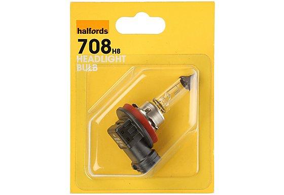 Halfords (HBU708) H8 Car Headlight Bulb x 1