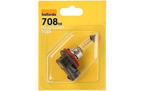 image of Halfords (HBU708) H8 Car Headlight Bulb x 1