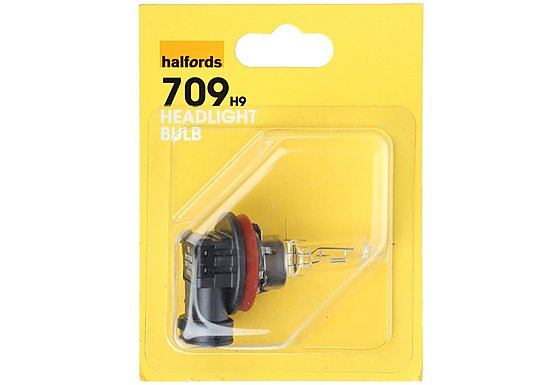 Halfords (HBU709) H9 Car Headlight Bulb x 1