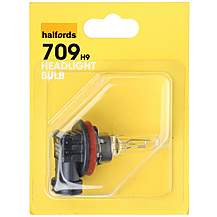 image of Halfords (HBU709) H9 Car Headlight Bulb x 1