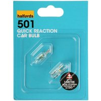 Halfords (HBU501) 5W Quick Response Car Bulbs x 2