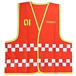image of Apollo Firechief Waistcoat (Ages 5-8)