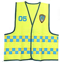 image of Apollo Police Patrol Waistcoat (Ages 5-8)