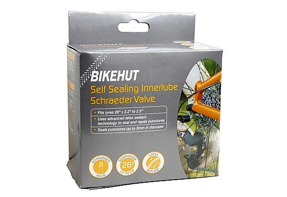 BikeHut Schrader Self Sealing Inner Tube - 26