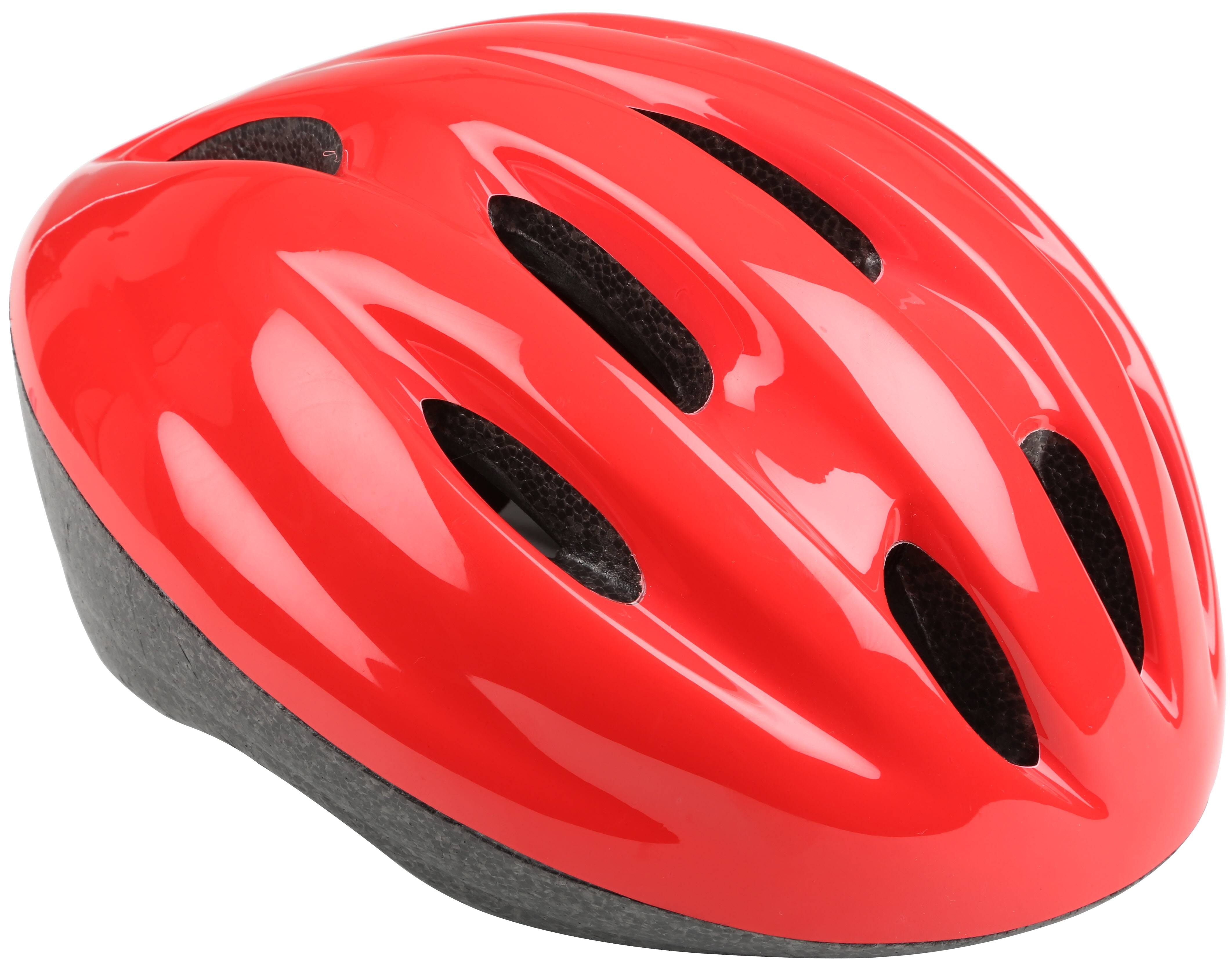Red Kids Bike Helmet