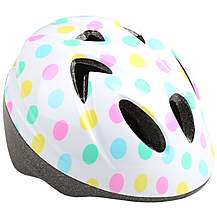 image of Polka Dot Toddler Bike Helmet (44-50cm)