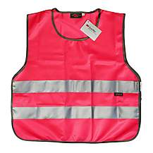 image of WOWOW High Visibility Reflective Pink Tabard - Large
