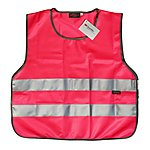 image of WOWOW High Visibility Reflective Pink Tabbard - Medium