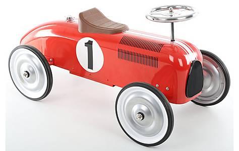 Halfords Retro Racing Car Ride On