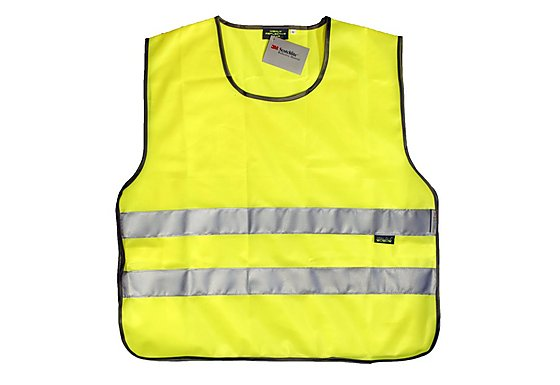 WOWOW High Visibility Reflective Yellow Tabard - Extra Large