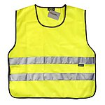 image of WOWOW High Visibility Reflective Yellow Tabard Large