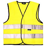 image of WOWOW High Visibility Reflective Kid's Yellow Waistcoat - Small