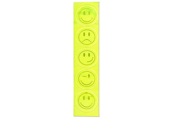 WOWOW Kids Smiley Reflective Stickers