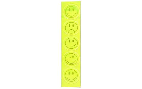 image of WOWOW Kids Smiley Reflective Stickers