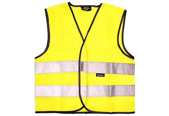 WOWOW High Visibility Reflective Kids Yellow Waistcoat - Medium