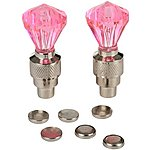 image of Valve Cap Lights - Crystal