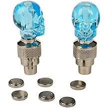 image of Valve Cap Lights - Skull
