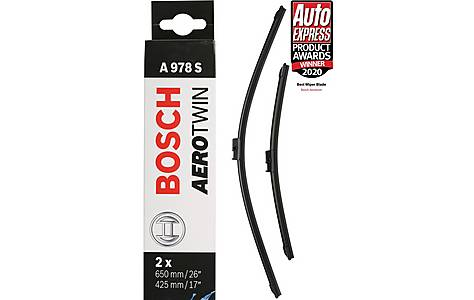 image of Bosch A978S Wiper Blades - Front Pair