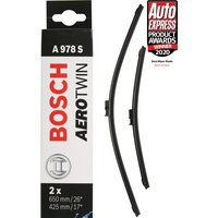 Bosch A978S Wiper Blades - Front Pair
