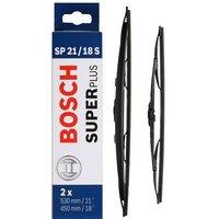 Bosch SP21/18S Wiper Blades - Front Pair