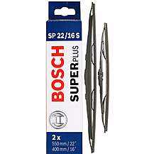 image of Bosch Wiper Blade Set 22/16 - Standard