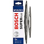 image of Bosch SP22/16S Wiper Blades - Front Pair