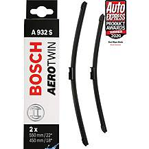 image of Bosch A932S Wiper Blades - Front Pair