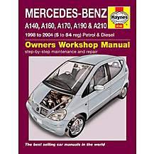 image of Haynes Mercedes-Benz A-Class (98-04) Manual